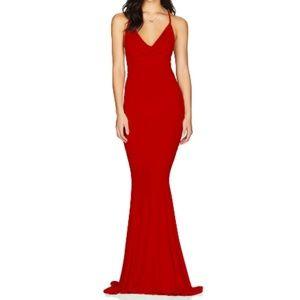 Nookie Hustle Max Dress in Red